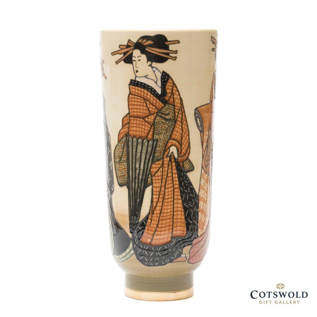 Dennis Chinaworks Autumn Geishas Vase 2 1024x1024