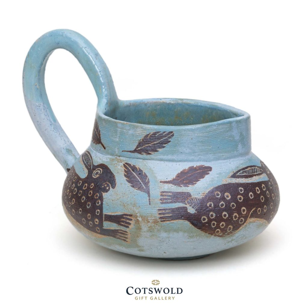 Michele Cowmeadow Running Hares Jug 2 1024x1024