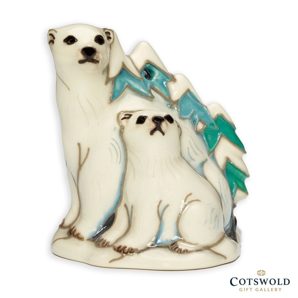 Moorcroft Pottery Christmas Arctic Adventurers 1024x1024