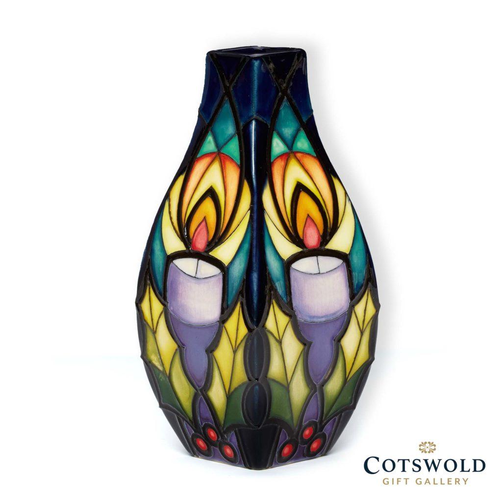 Moorcroft Pottery Christmas Flickering Hope 1024x1024