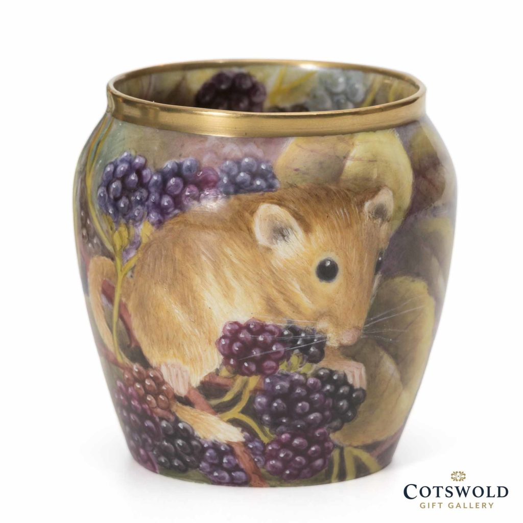 Steve Smith Miniature Dormouse And Blackberries 2 1024x1024
