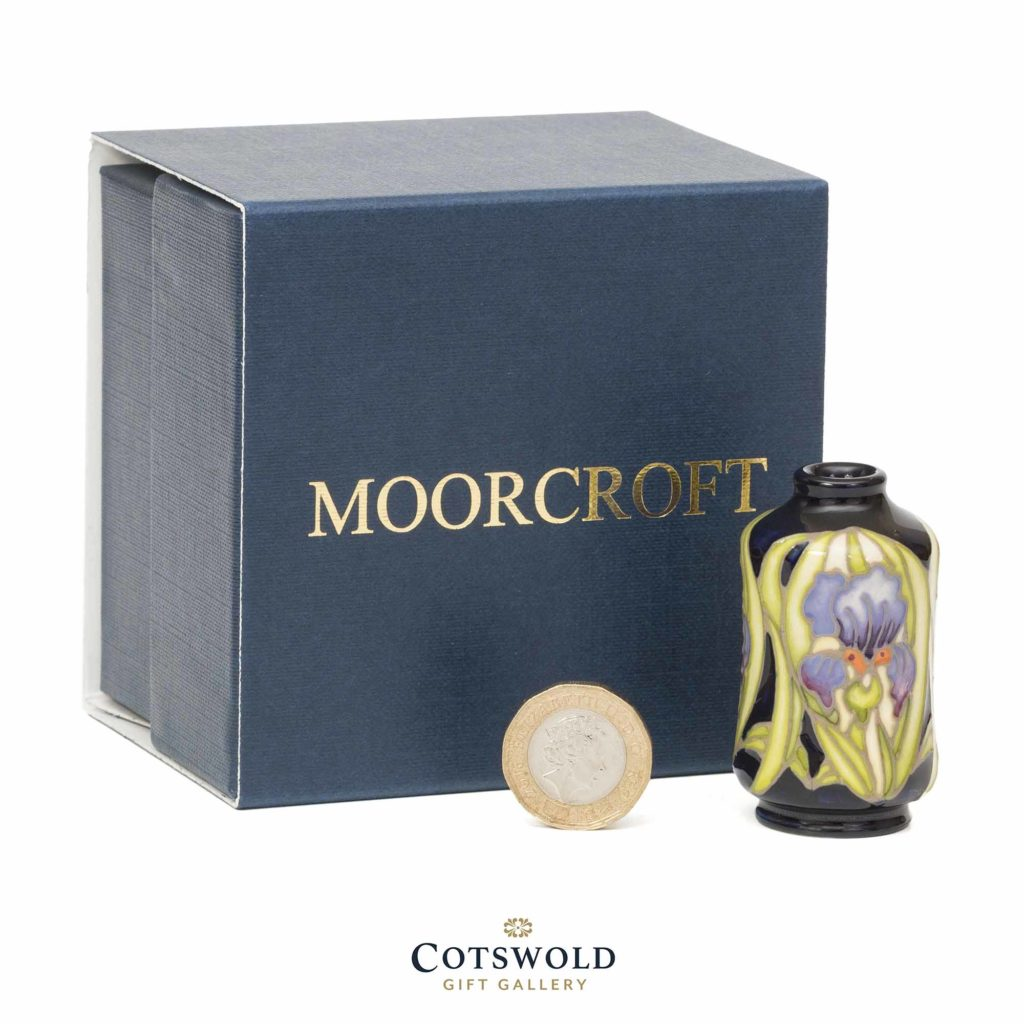 Moorcroft Pottery Miniature Flag Iris Box 1024x1024