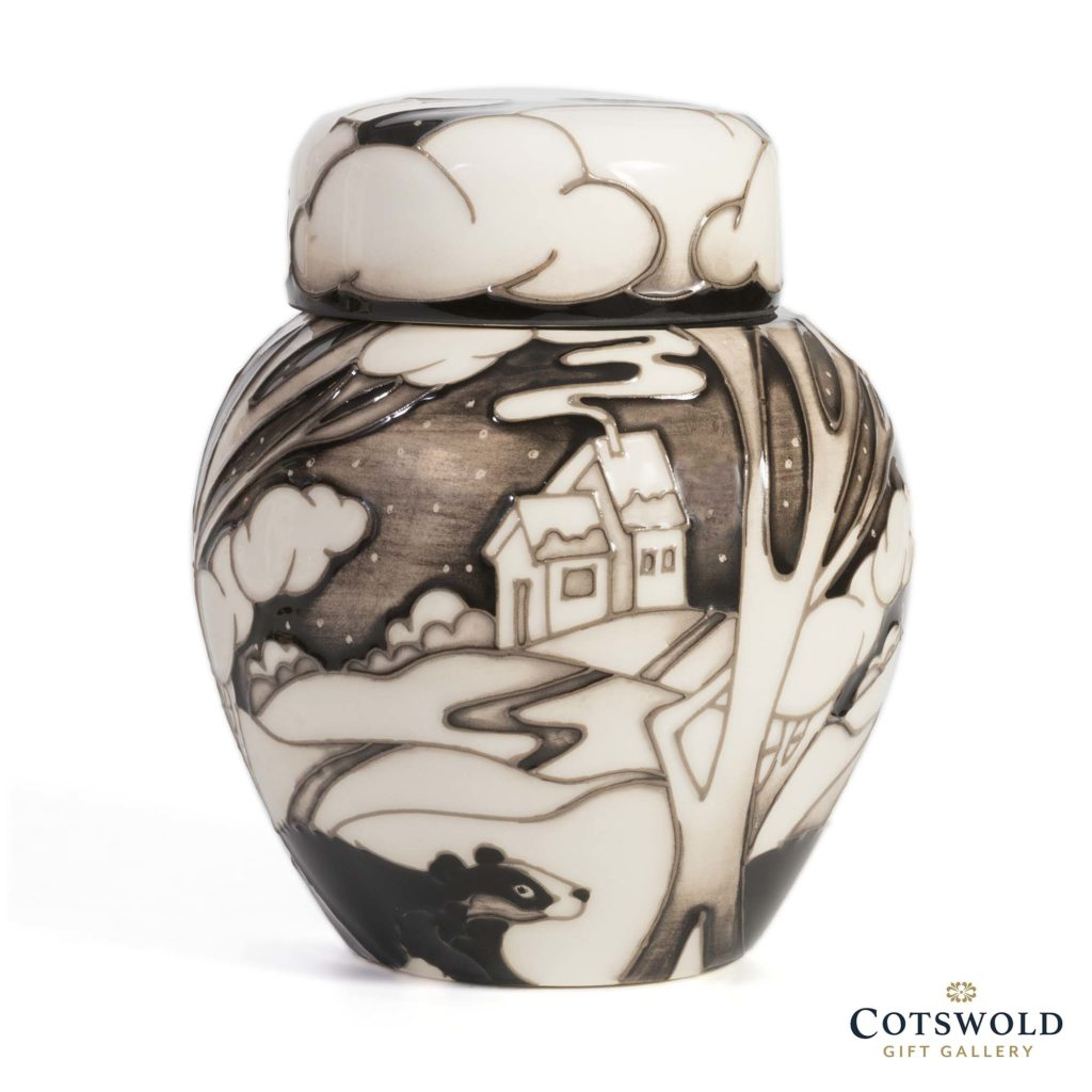 Moorcroft Pottery Silent Watchmen Ginger Jar 1 1024x1024