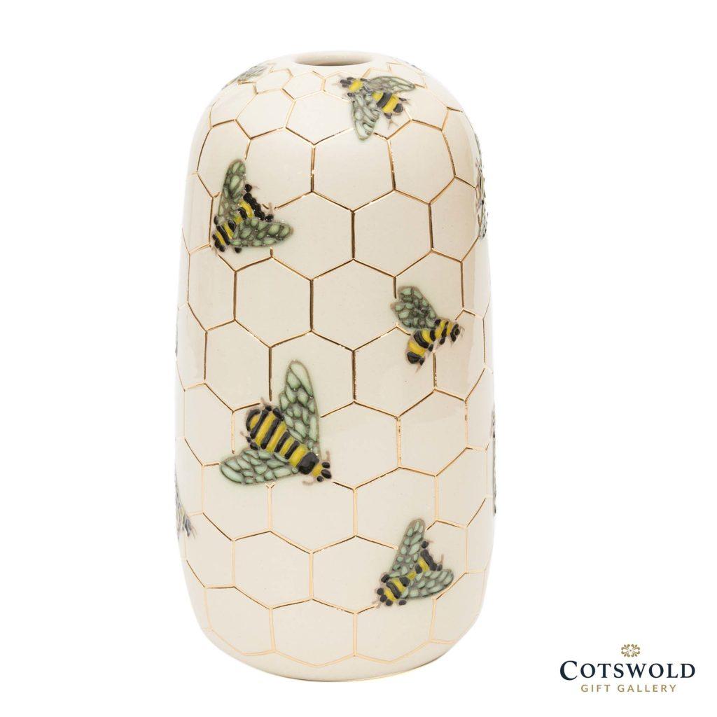 Dennis Chinaworks Lustred Bee Vase 1 1024x1024