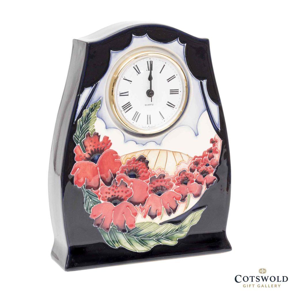 Moorcroft Pottery Forever England Clock 2 1 1024x1024