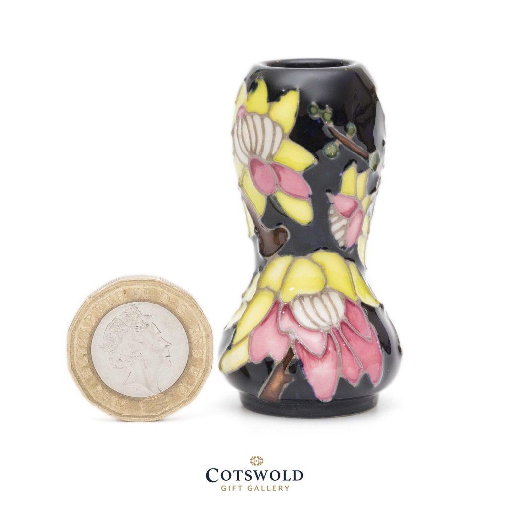 Moorcroft Pottery Wintersweet Miniature Vase 2 1024x1024