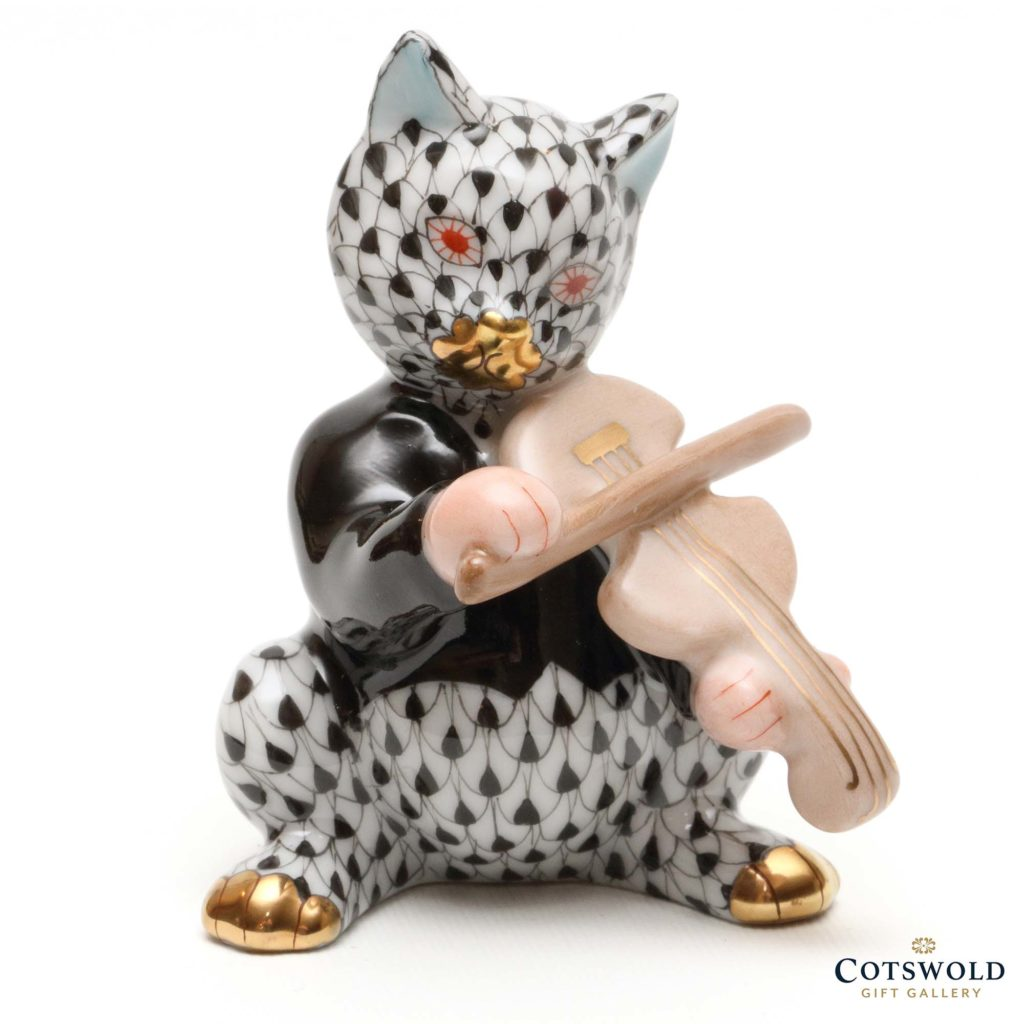 Herend Porcelain Cat And Fiddle 1 1024x1024