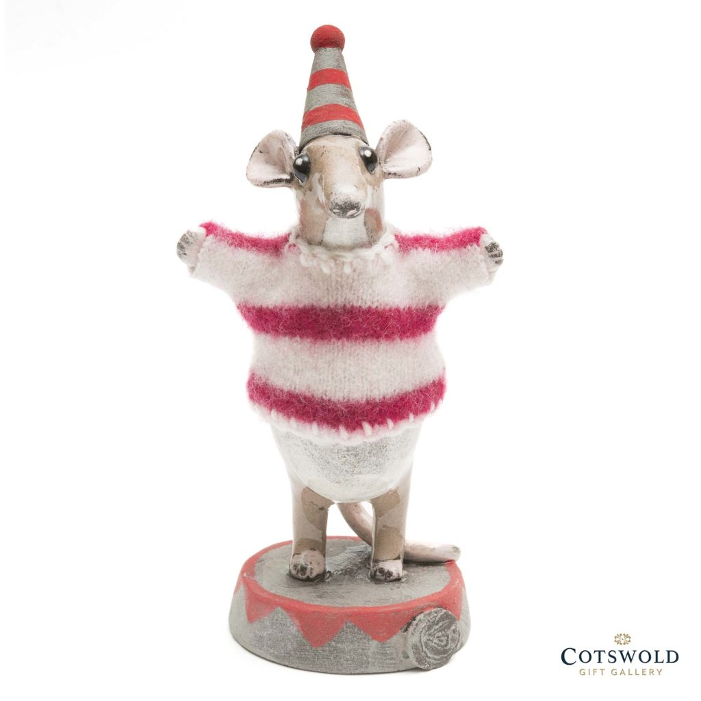 Gwen Vaughan Circus Mouse In Cerise Jumper 2 1024x1024