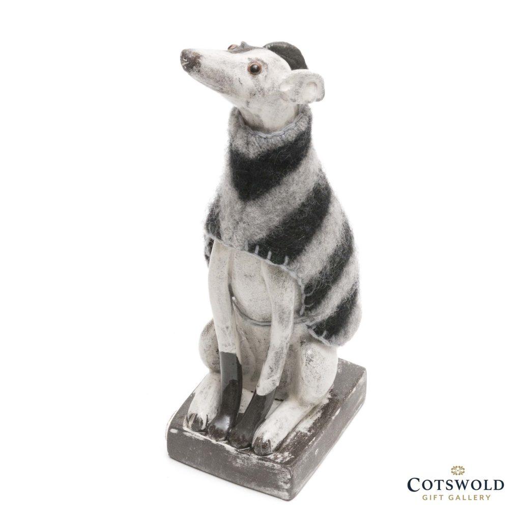 Gwen Vaughan Greyhound In Black And White Jumper 2 1024x1024