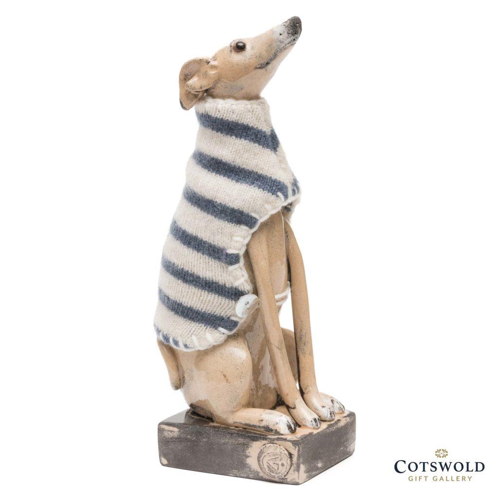 Gwen Vaughan Greyhound Stripey Coat 1 1024x1024