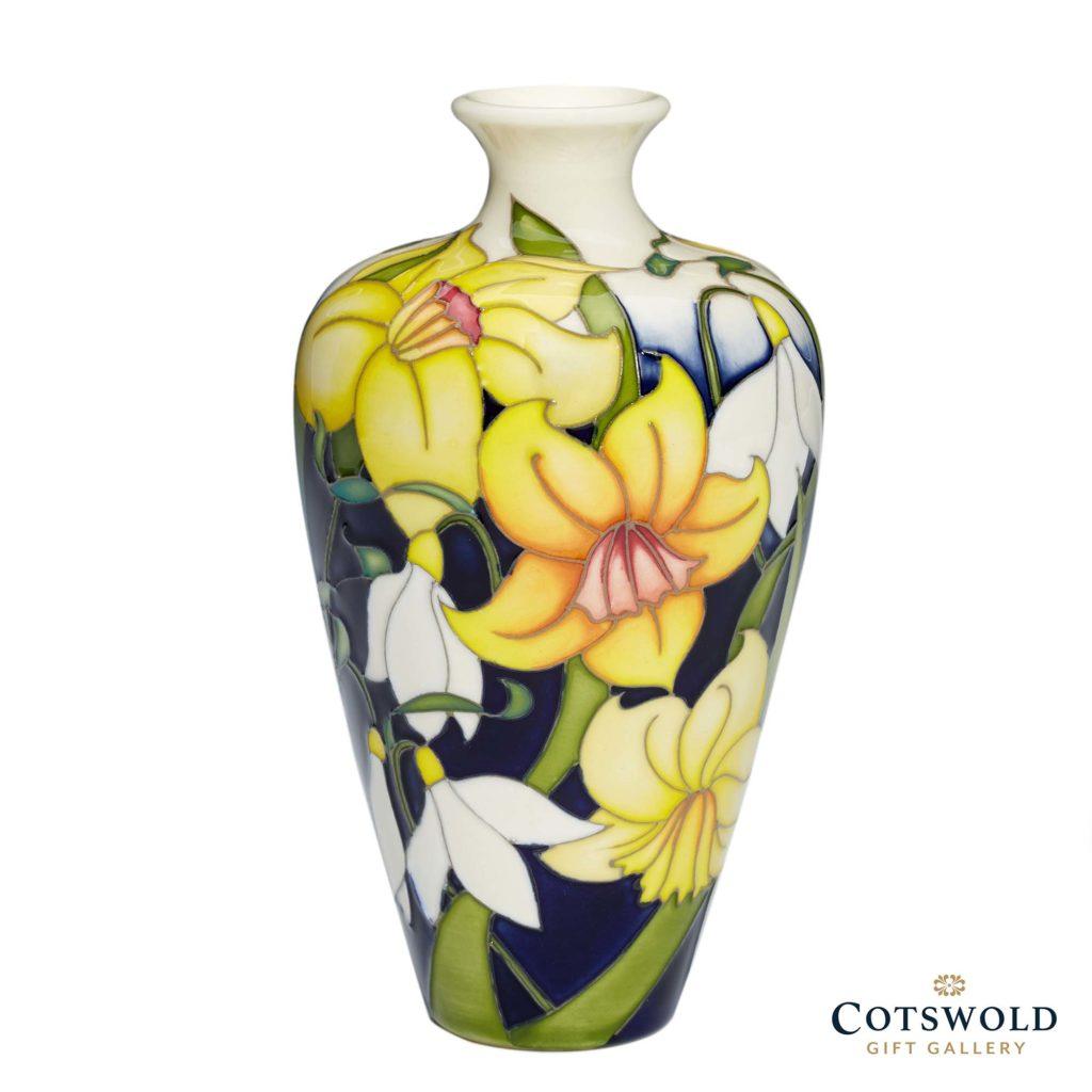 Moorcroft Pottery Snowdrops Sensation Emblem Of Spring 3 1024x1024
