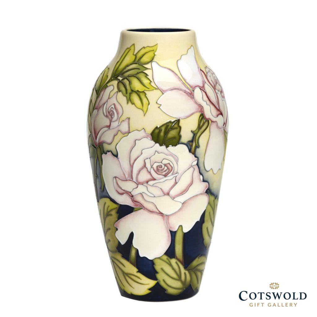 Moorcroft Pottery Bella Rosa Vase 200 8 1024x1024