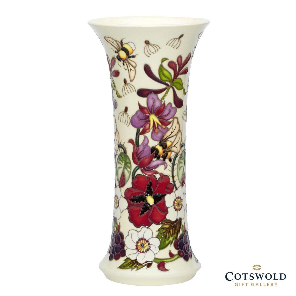 Moorcroft Pottery Pollinators Vase 159 10 1024x1024