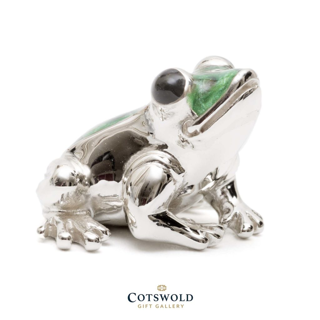 Saturno Silver Animals Frog 8573s 2 1024x1024