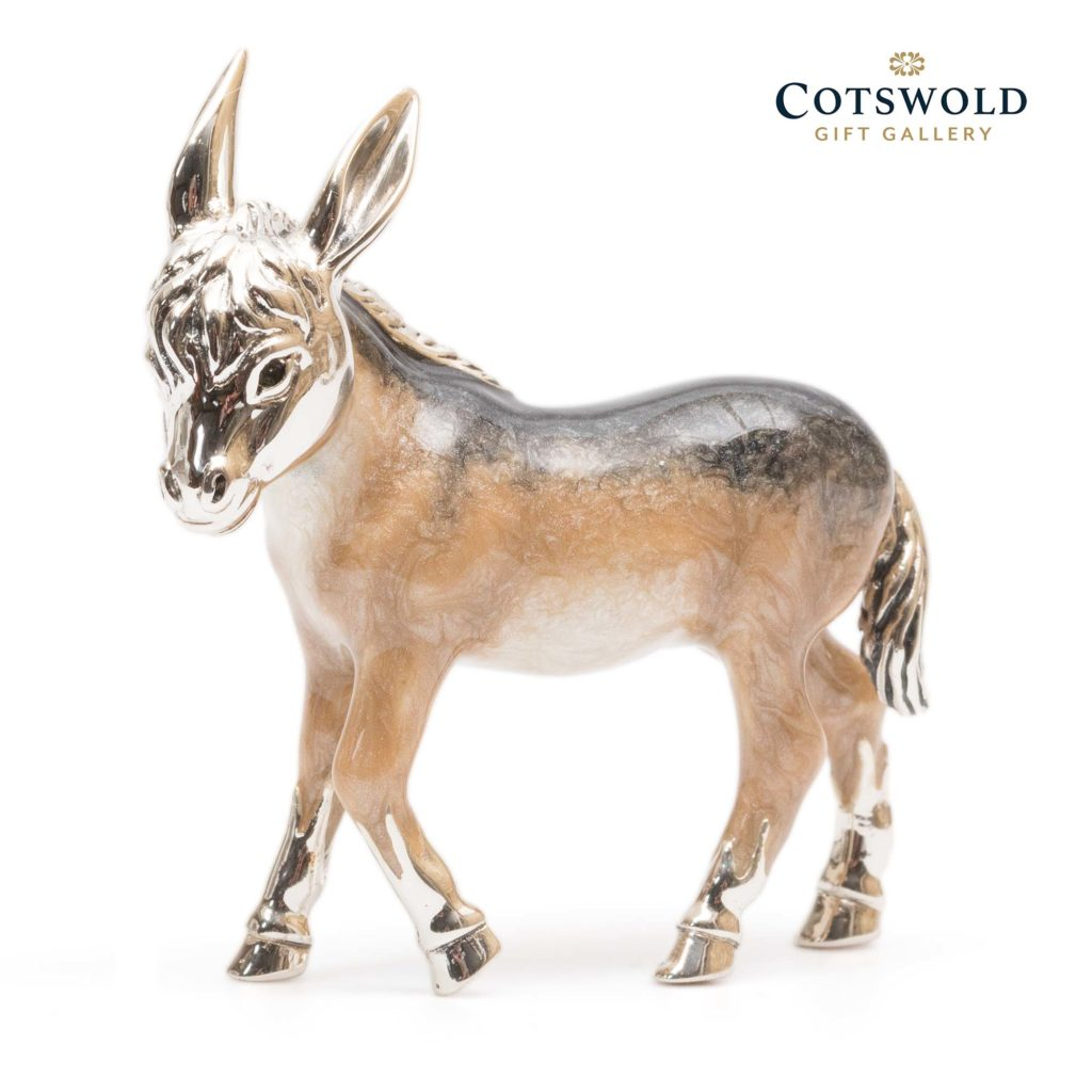 Saturno Silver Animals Donkey 10327l 2 1024x1024