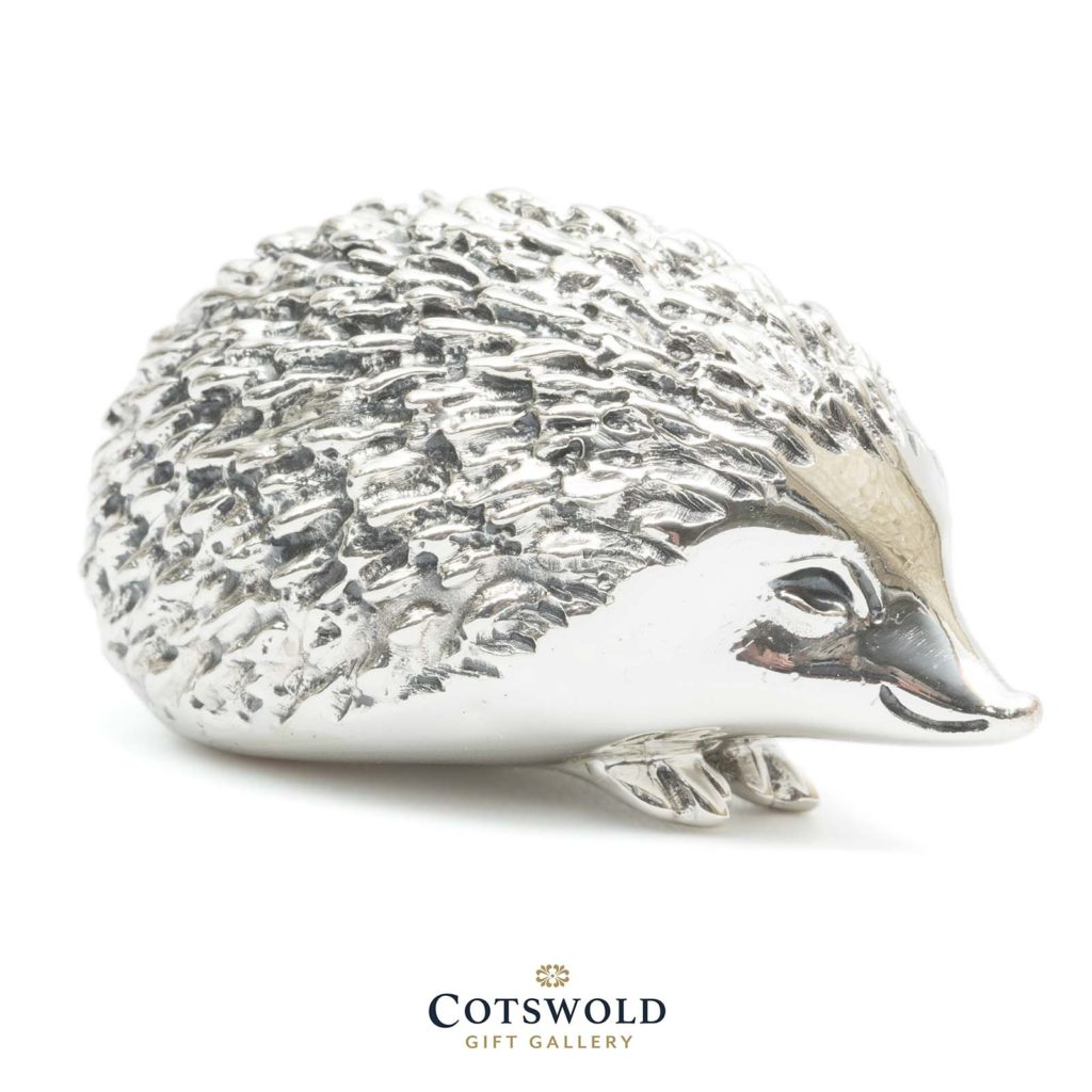 Saturno Silver Animals Hedgehog 4 1024x1024