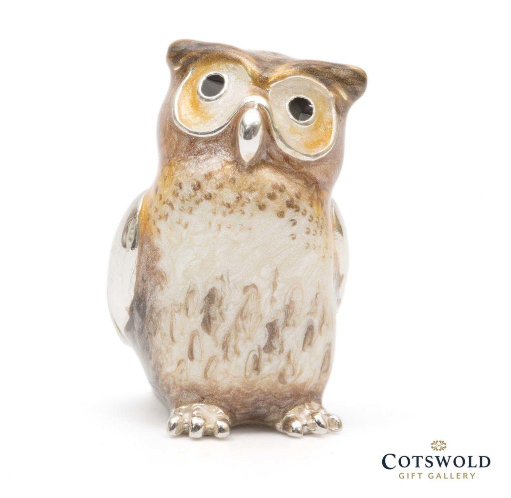 Saturno Silver Animals Owl 12839m 1 1024x999