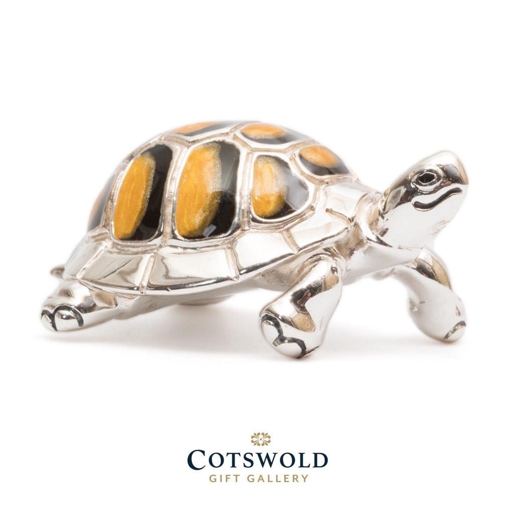 Saturno Silver Animals Tortoise 2 1024x1024