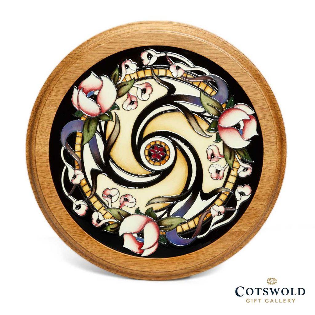 Moorcroft Pottery Art Nouveau Collection Hotel Tassel Plaque 1 1024x1024