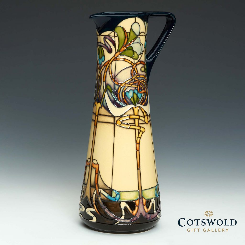 Moorcroft Pottery Art Nouveau Collection Van Eetvalde 2 1024x1024