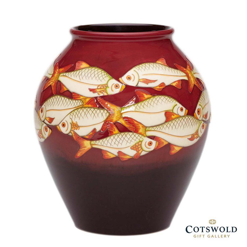 Moorcroft Pottery Ashley Pools Vase 4 8 1 1024x1024