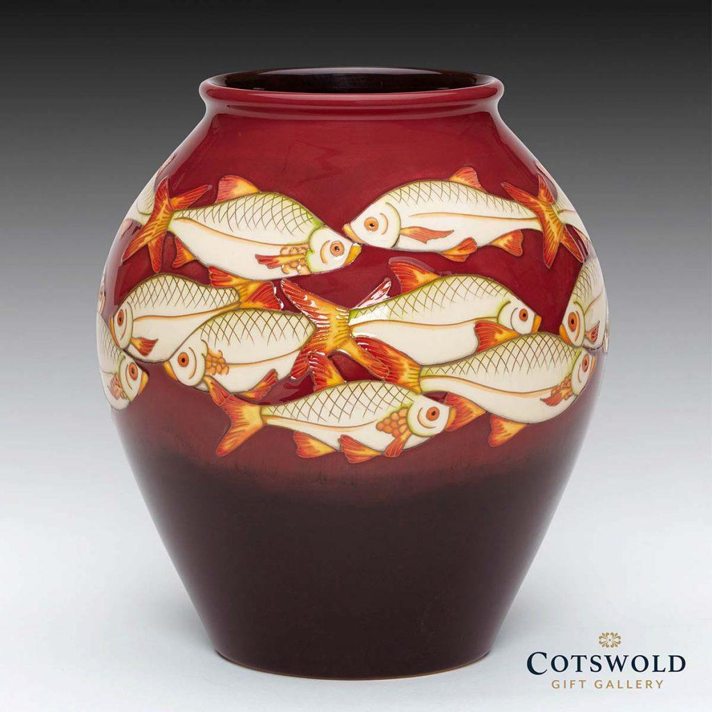 Moorcroft Pottery Ashley Pools Vase 4 8 2 1024x1024