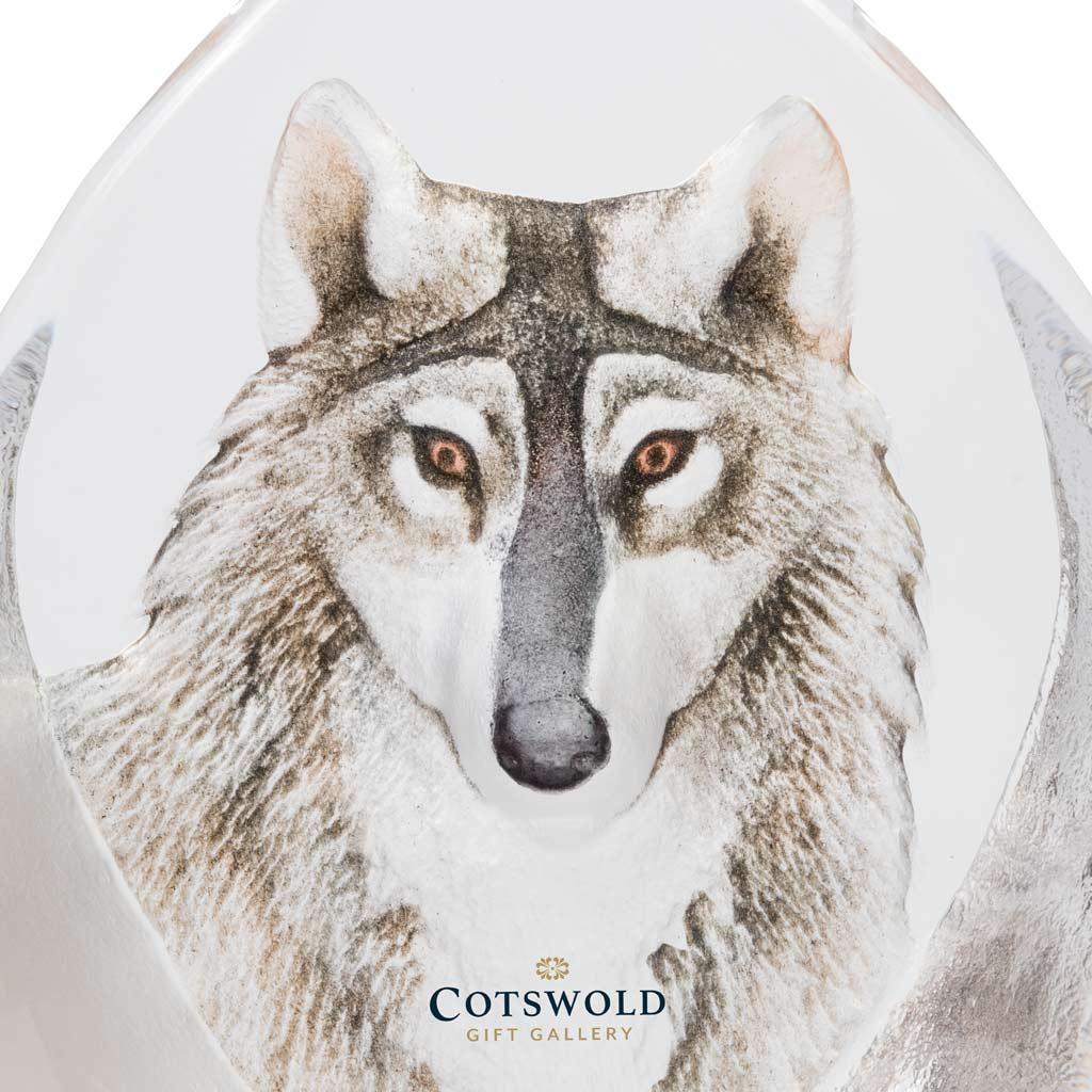 Maleras Glassware Wolf 33862 Detail