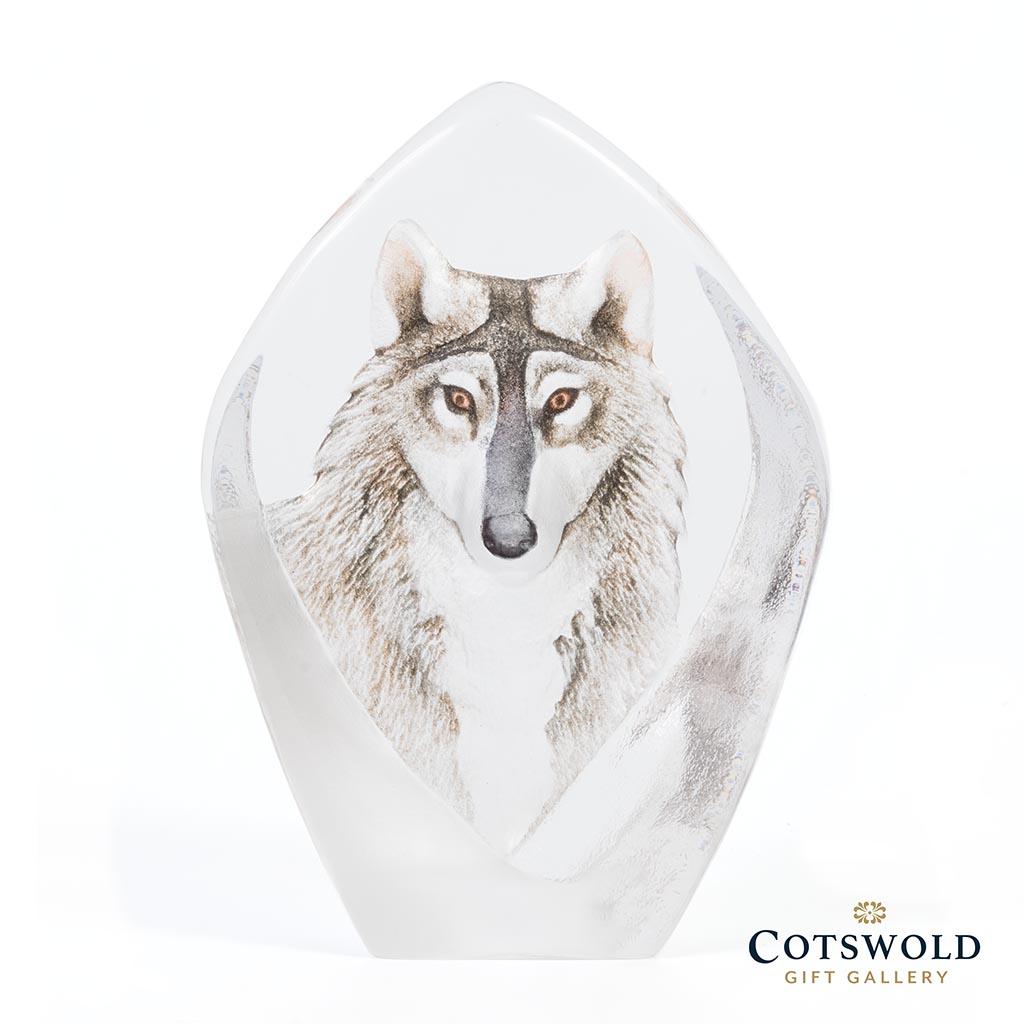 Maleras Glassware Wolf 33862