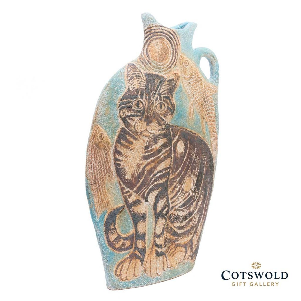 Michele Cowmeadow Cats And Fish Slab Vase 3 1024x1024