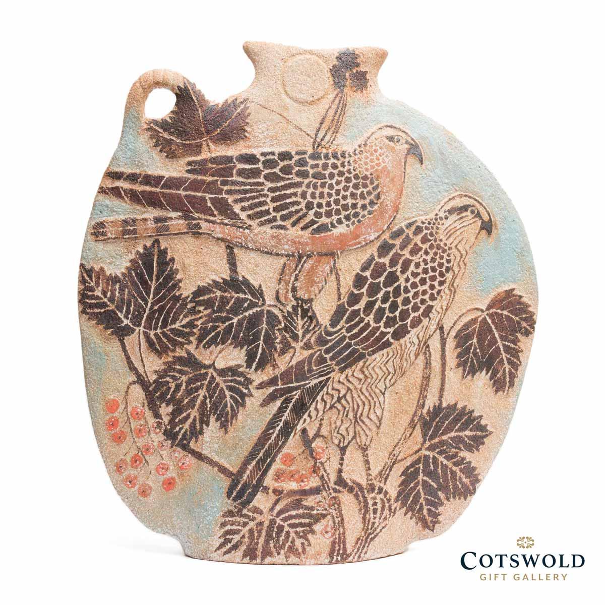 Michele Cowmeadow Hawks Slab Vase 1