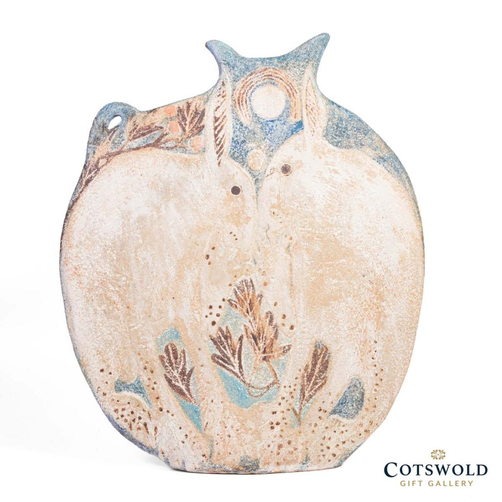 Michele Cowmeadow Pair Of Hares Slab Vase 3 1024x1024