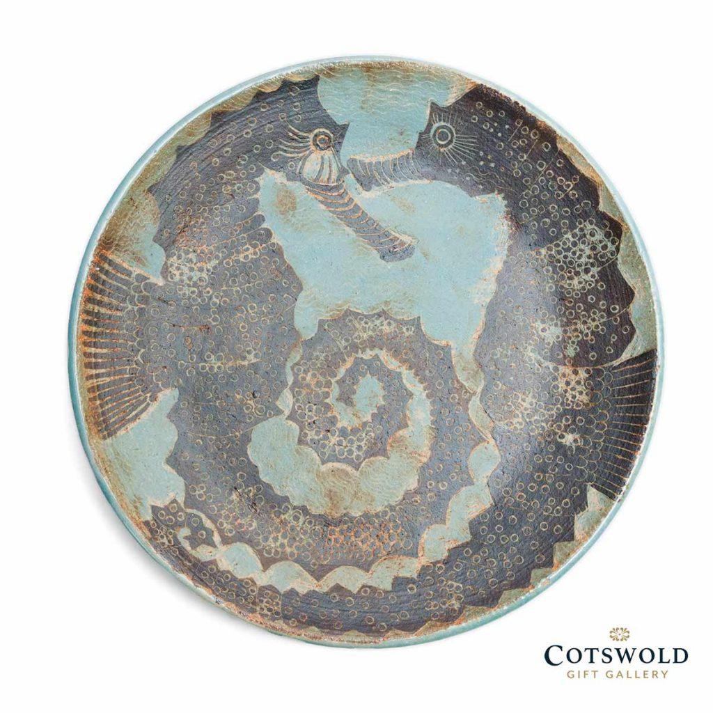 Michele Cowmeadow Seahorses Dish 1024x1024