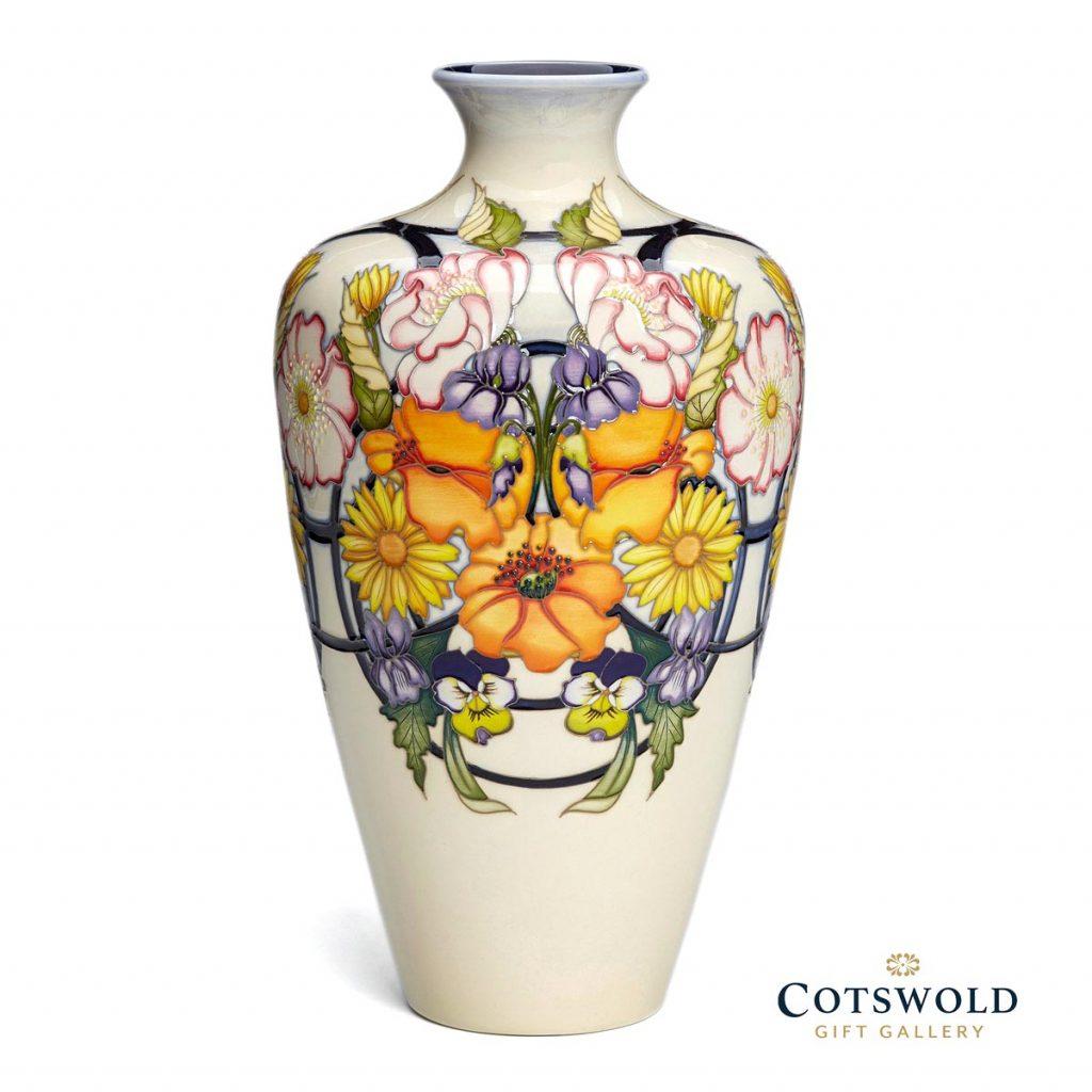 Moorcroft Pottery A Second Calling Ophelias Return Vase 72 12 01 1024x1024