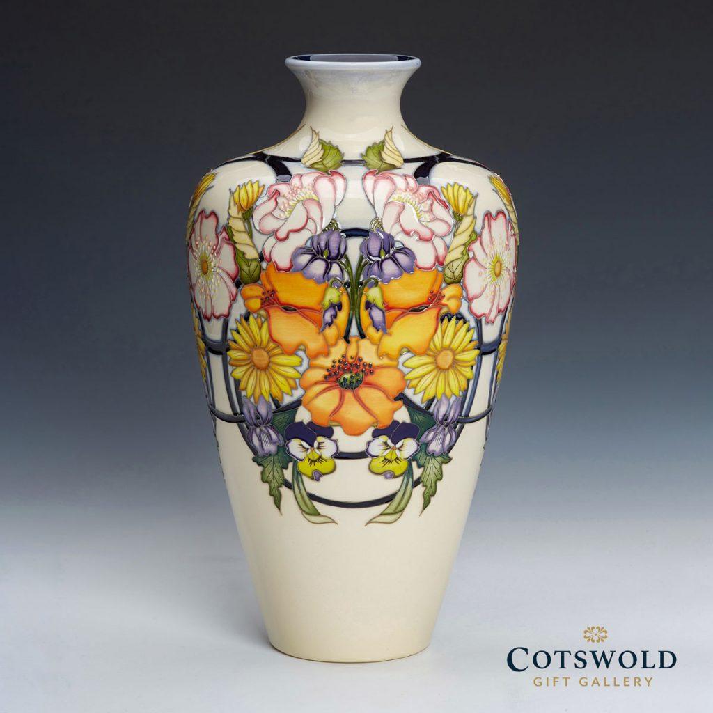 Moorcroft Pottery A Second Calling Ophelias Return Vase 72 12 02 1024x1024