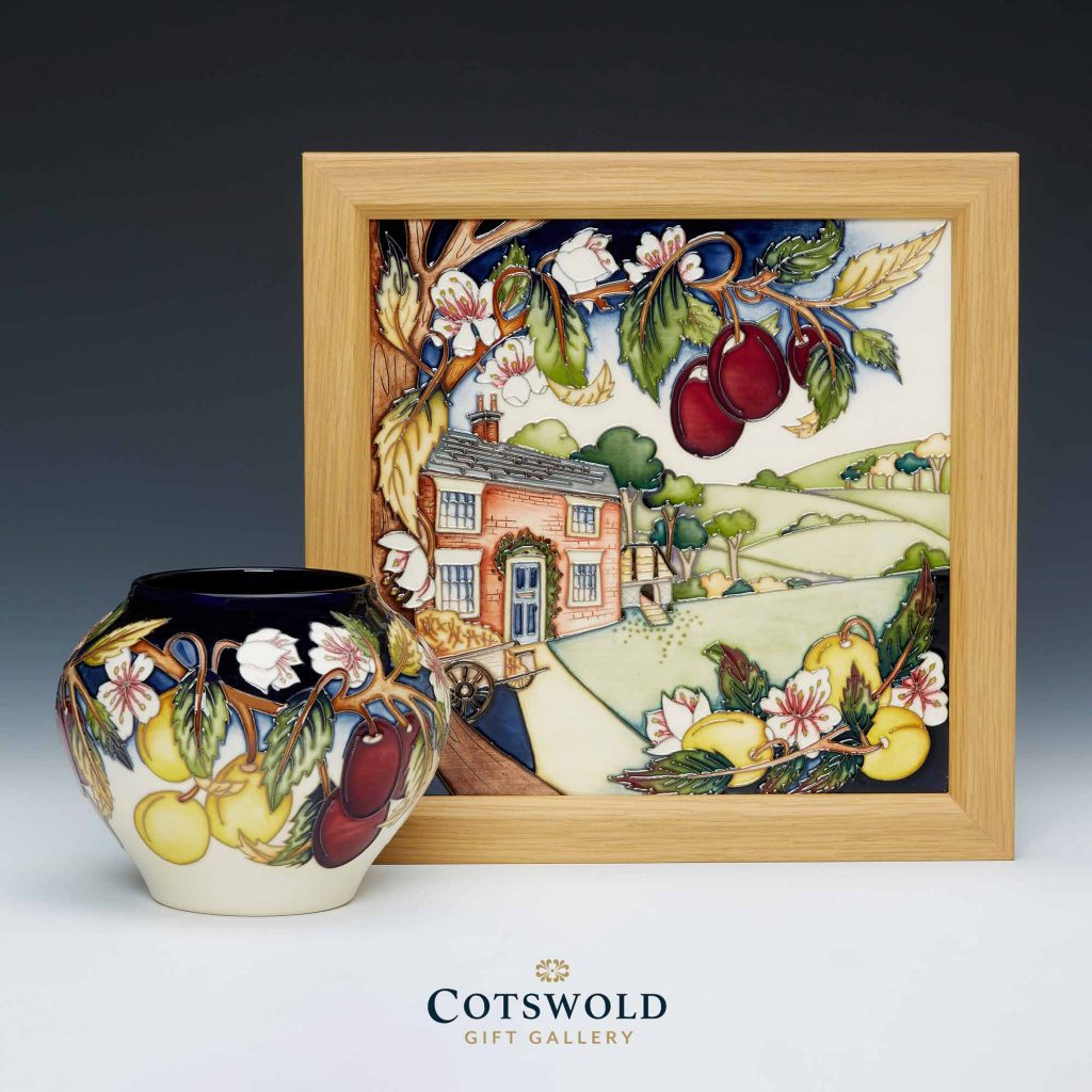Moorcroft Pottery A Second Calling Ryden Cottage Gradient 1024x1024