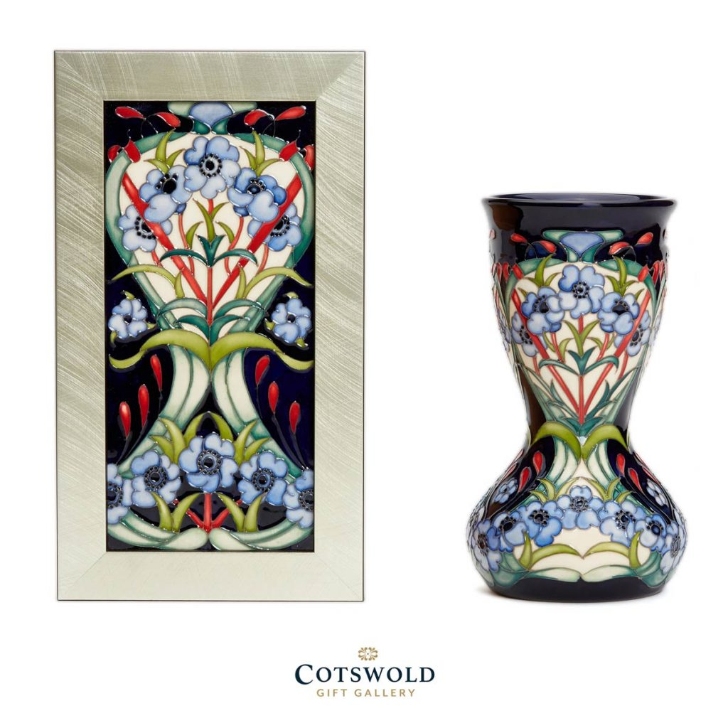 Moorcroft Pottery A Second Calling Symphony In Blue Duo 1024x1024