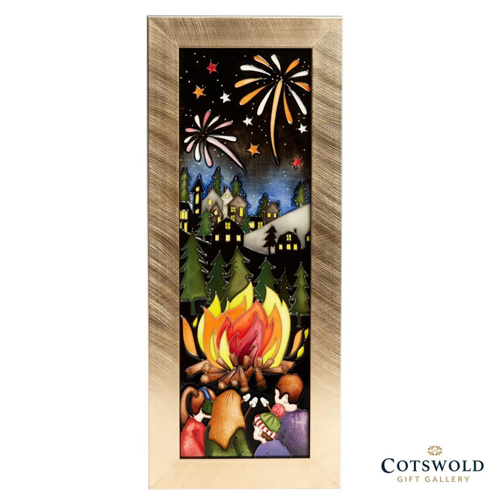 Crackling Fire White 1024x1024