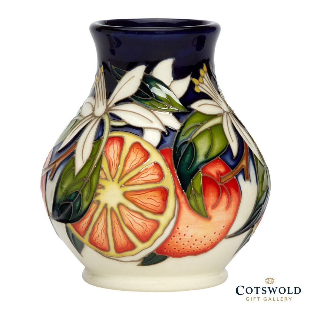 Moorcroft Pottery Blue The Gift Vase 869 4 1024x1024
