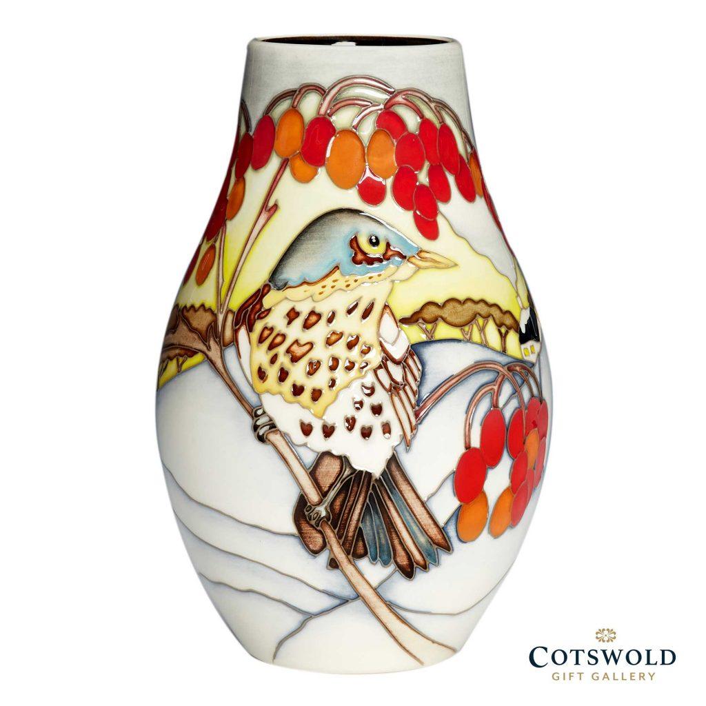 Moorcroft Pottery Winter Visitor Vase 01 1 1024x1024